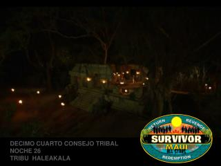 Survivor Maaui Consejo 14 Resubido