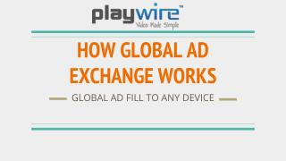 How Playwire's Global Ad Exchange Network Works