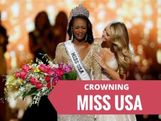 Crowning Miss USA