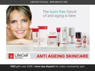 Lifecell Australia - ANTI AGEING SKINCARE