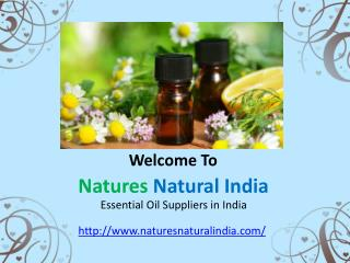 Pure Floral Absolute Oil at Natuersnaturalindia.com