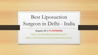 Best Liposuction Surgery Cost in Delhi, India - bestliposuctionindia.com