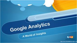 An Introduction To Google Analytics.