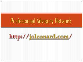 Professional Advisory Network