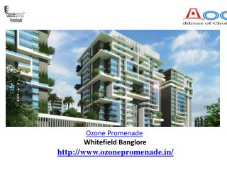 Ozone Promenade Bangalore  - slideserve.com