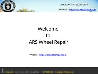 Dallas Wheel Repair