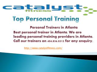 personal trainers in Atlanta