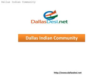 Dallas Indian Community