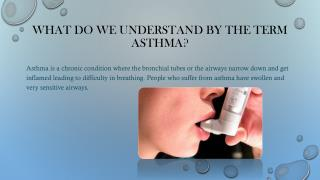 Ayurvedic medicine for asthma
