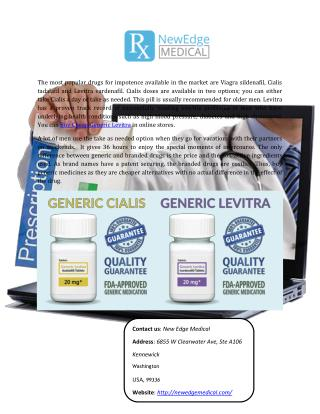 Buy Cheap Generic Levitra Online