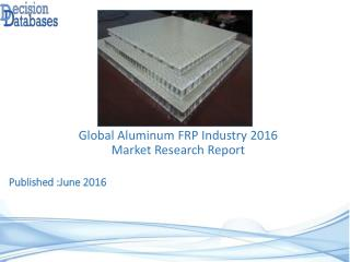 Global Aluminum FRP Industry Share and 2021