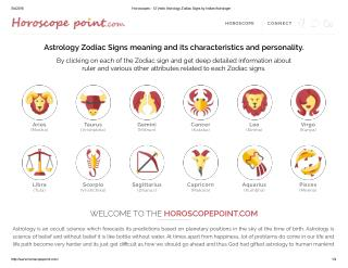 www.horoscopepoint.com 12 Astrology Zodiac Signs Information.pdf
