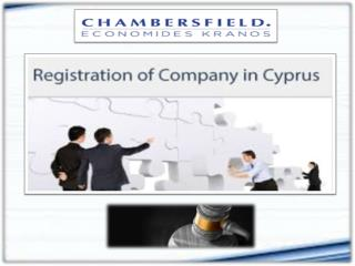 Registration of Company in cyprus