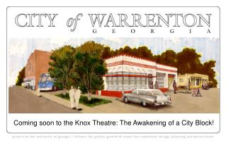 Coming soon to the Knox Theatre: The Awakening of a City Block