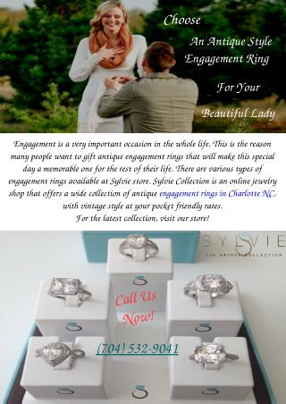 Select Diamond Engagement Rings Charlotte NC