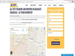 Packers and Movers in Baguiati (Kolkata) - All City Packers & M®