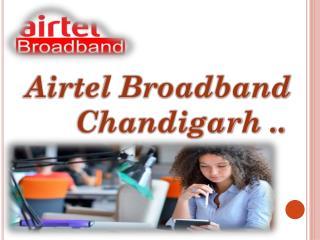 Airtel Broadband Plans Chandigarh Mohali Region