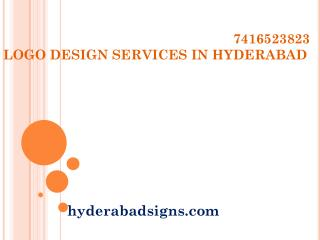 Logo Design Services in Hyderabad