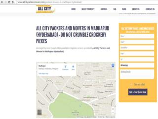 Packers and Movers in Madhapur (Hyderabad)-All City Packers and Movers�
