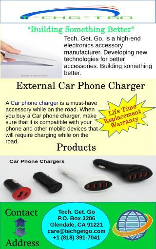 External Car Phone Charger