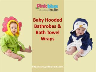 Cute Kids Bath Towels and Washcloths Online India