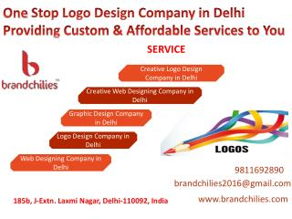 One Stop Logo Design Company in Delhi Providing Custom & Affordable Services to You