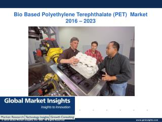 PPT-Bio Based Polyethylene Terephthalate (PET) Market: Global Market Insights, Inc.