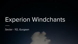 Buy Experion Windchants Apartments In Resale Reviews