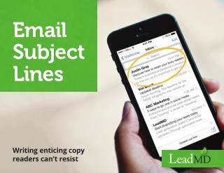 Email Subject Lines: How to Write Enticing Copy that Readers Can't Resist