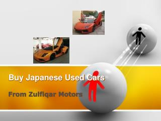 Buy Used cars from Japanese Used Cars Exporter