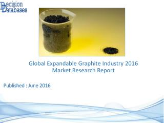 International Expandable Graphite Market Forecasts to 2021