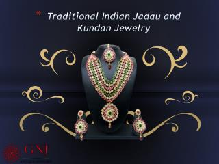 Traditional Indian Kundan, Jadau Jewelry Symbol of Beauty, Love and Elegance