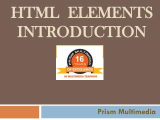 HTML5 & CSS3 training, Web Design training Hyderabad, Web Designing classes Hyderabad – Prism Multimedia