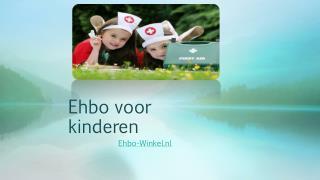 Ehbo voor kinderen