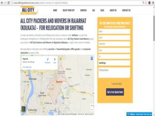 Packers and Movers in Rajarhat(Kolkata)-All City Packers & M®