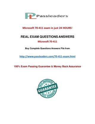 Passleader 70-411 VCE