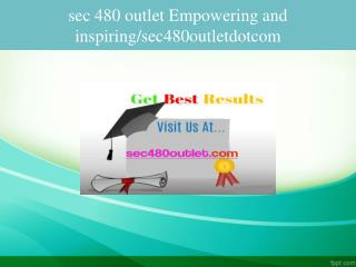 sec 480 outlet Empowering and inspiring/sec480outletdotcom