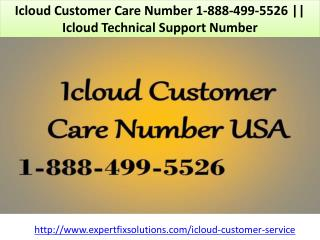 Icloud Customer Care Number 1-888-499-5526 || Icloud Technical Support Number