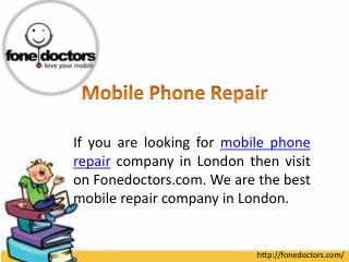 Mobile Phone Repair
