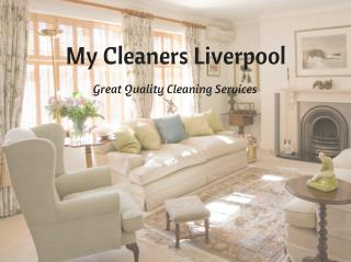 My Cleaners Liverpool