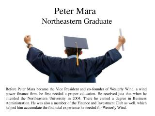 Peter Mara - Northeastern Graduate