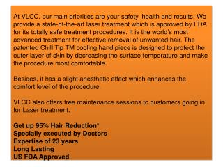 Laser Treatment for Skin, Laser Hair Removal