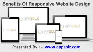 Benefits Of Responsive Website Design