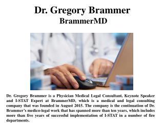 Dr. Gregory Brammer - BrammerMD