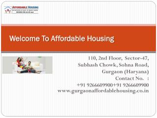Aravali homes sector 4 sohna | gls affordable housing - Gurgaonaffordablehousing.co.in