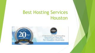 Hosting service provider in Houston