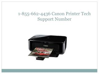 1-855-662-4436 Canon Printer Technical  Support  Number