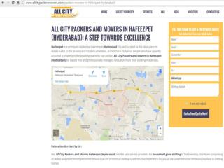 Packers and Movers in Hafeezpet (Hyderabad)-All City Packers and Movers®