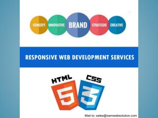 Responsive Web Development Services Provider