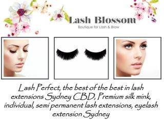 Eyelash Extensions in Sydney by Lash Blossom